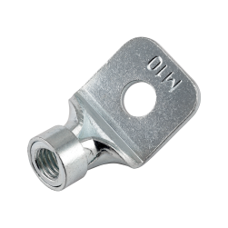 Hanger sockets with inner thread and reinforcement ring 45°