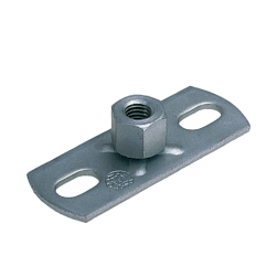 Base plates with combination nut