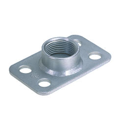 Base plates with connection socket