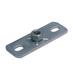 Base plates with hexagonal nut
