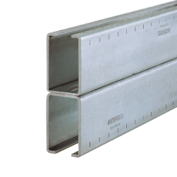 MPC-Support channels 40/120/3.0 H | 6640 mm | hot-dip galvanised