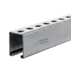 MPR-Support channel 41/62/2.5 | 6000 mm | hot-dip galvanised