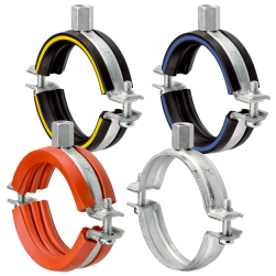 Single bossed clamps