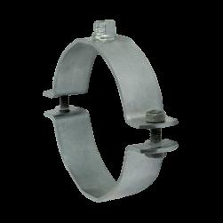 Single bossed clamp, heavy-duty version