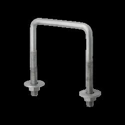 MPT-Threaded square U-bolt Q80-2.0