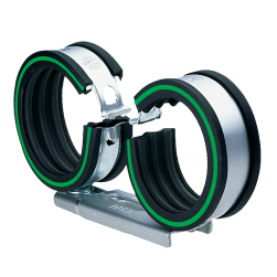 VARIO-Twin pipe clamps