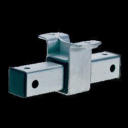 Box-section heavy slide guide 7.8 kN hot-dip galvanised
