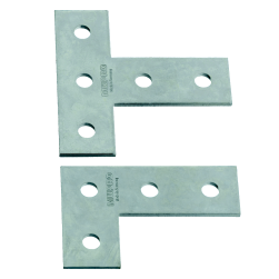 Angle- and T-connection plates