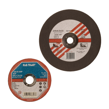 Cutting-off and rough grinding discs